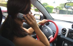 phone in car